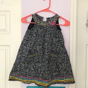 Blueberi boulevard girl  100% cotton dress